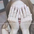 Nhẫn bạc 925 xi vàng trắng Shee Store kiểu đẹp, giá rẻ
