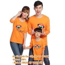 Áo Gia Đình Dài Tay DT-CC00146 set 3 áo