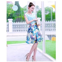 Set Áo Satin + Váy Hoa