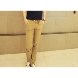Quần kaki nam màu da bò cho nam phong cách trẻ trung, cá tính