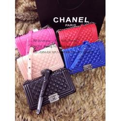 Túi Chanel Boy nhựa