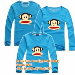 Áo Gia Đình Dài Tay Cao Cấp DT-CC00164 set 3 áo