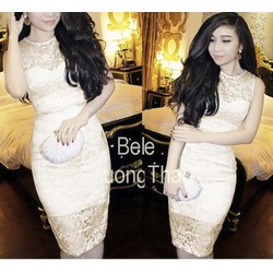 Đầm ren body cao cấp Bella VD266