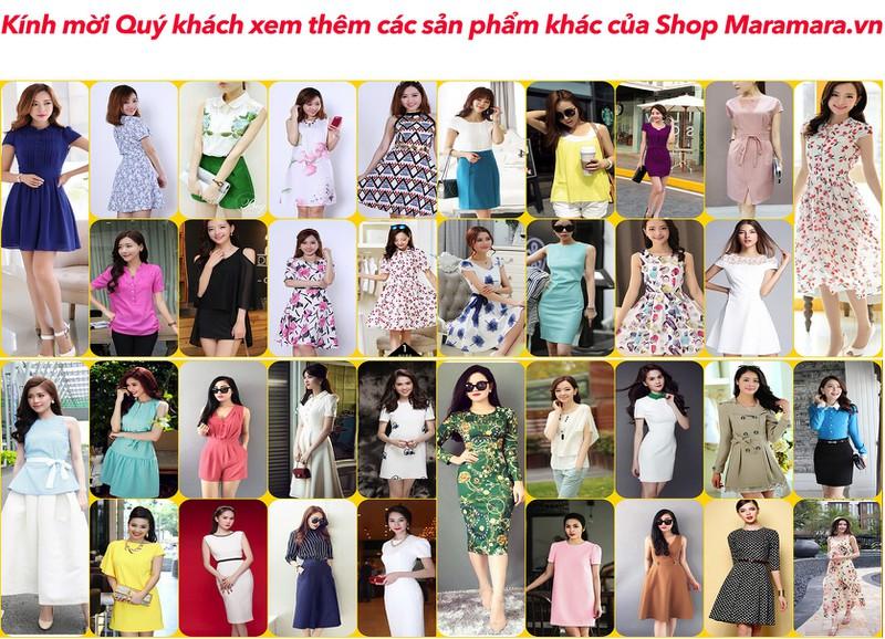 Đầm Dự Tiệc Ren Sọc Cao Cấp Thiết Kế Vintage #422019 3