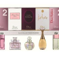 Set nước hoa Dior La Collection Femme 5 chai