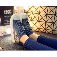 Giày bánh mì retro style Hàn Quốc 7458