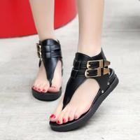Giày Sandal xỏ ngón phong cách -S001D- F3979.com