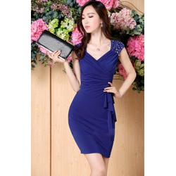 Đầm Cổ Tim Đính Pha Lê Sang Trọng Mã sản phẩm: MD1586