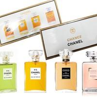 Bộ nước hoa chance 4 chai bốn hương thơm nhẹ nhàng,tinh tế-205