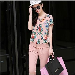 [Xả kho 640k sale 190k] Thời trang nữ nhập khẩu - Set áo và quần dài thể thao H094 - H094 thumbnail