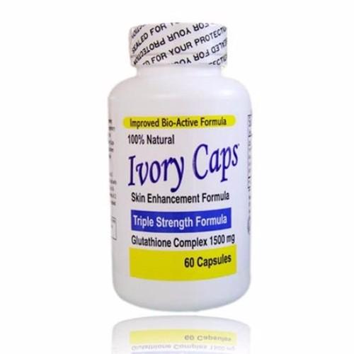 Ivory caps glutathione hộp 60 viên làm trắng da tự nhiên từ mỹ