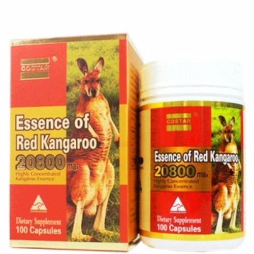 Essence of red nhau thai kanga roo 20800mg 100 viên úc kanga roo đỏ