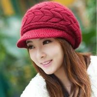 nón mũ len  dệt kim cao cấp thời trang mới