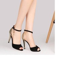 HÀNG CAO CẤP CHẤT NGOẠI NHẬP - Giày cao gót nữ CGV35