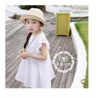 Đầm cotton bé gái từ 2 - 7 tuổi cao cấp nhập khẩu V115