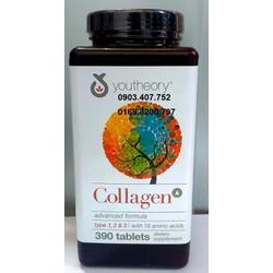Collagen Advanced Formula type 1,2,3 C 390 viên của Mỹ hãng Youtheory