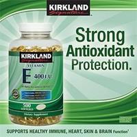 Vitamin E 400iu 500 viên hãng Kirkland từ Mỹ.