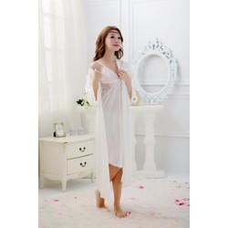 áo choàng, váy ngủ cô dâu TK408