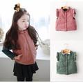 Áo khoác ghile bé gái từ 2 - 7 tuổi nhập khẩu Hồng Kông V112