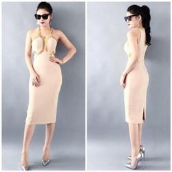 Đầm ôm cut eo cực sang chảnh, hàng thiết kế cao cấp, fom chuẩn