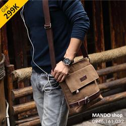 Túi đeo chéo thời trang, túi nam, túi iPad - DB03