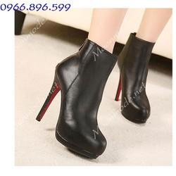 Mã MM90096 - Boots cổ thấp sành điệu, thời trang