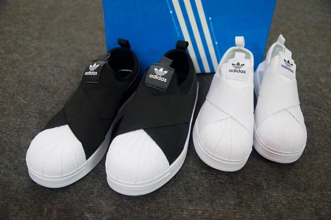 giày adidas superstar slip on fake