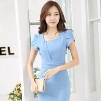 Đầm công sở đủ size: Nét Duyên Dịu Dàng - TP532