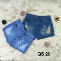 Quần short  jean  giả váy - QS 20