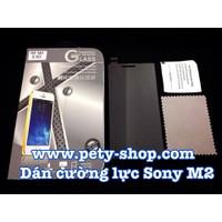 Miếng dán cường lực Sony M2