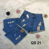 Quần short jean nữ - QS 21 22