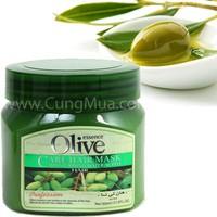 combo 2 kem ủ tóc chiiec xuất từ dầu Olive