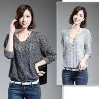 Shop Zalo - HÀNG NHẬP CAO CẤP -Áo len dệt kim kiểu hàn quốc AL0122