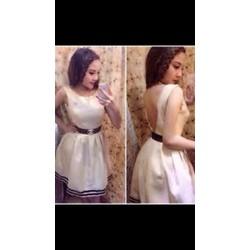 ĐẦM XÒE CHẤT ĐẸP XẺ LƯNG V