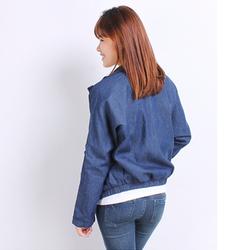 Áo khoác jean hoodie thời trang cá tính siêu đẹp hàng nhập