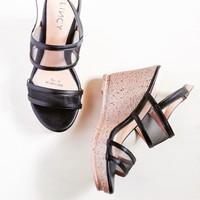 LINCY.VN - Giày sandal quai lưới ngang đế xuồng nhẹ chân - lincy R221