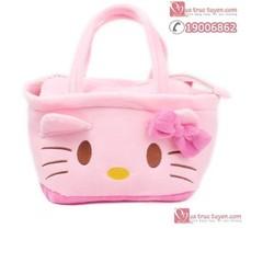 Túi đựng đồ hình Hello Kitty