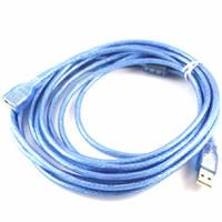 Cáp USB nối dài 5m Cable USB  Xanh