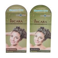 Thuốc nhuộm phủ bạc dạng gội Hicara Easy Speedy Hair Color