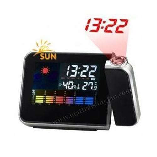 Đồng hồ chiếu giờ màn hình màu LCD