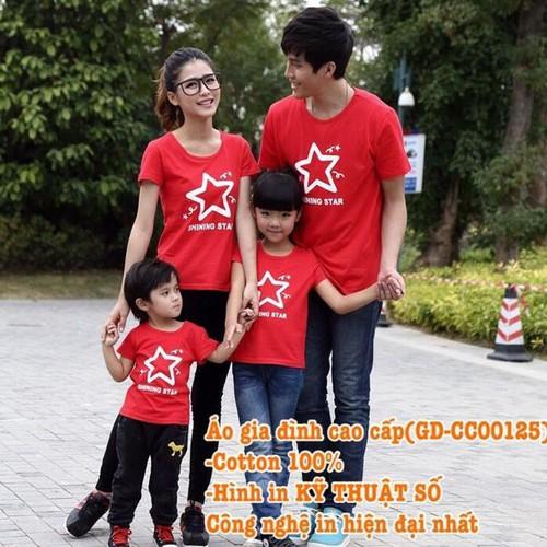 Áo Gia Đình Cao Cấp GD-CC00125 set 4 áo