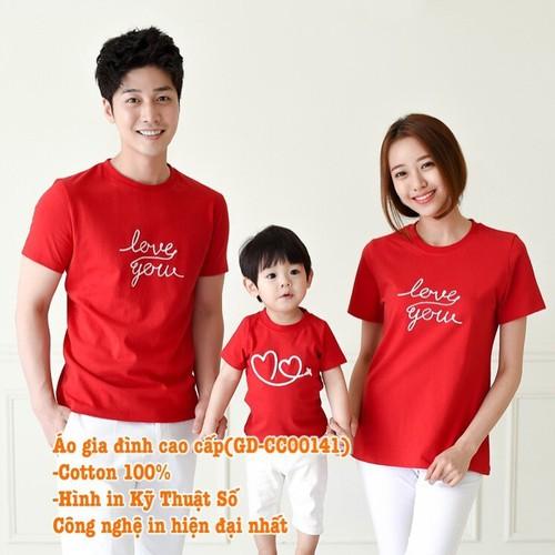 Áo Gia ĐÌnh Cao Cấp GD-CC00141 set 3 áo