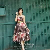 ĐẸP SHOP - Xưởng may chuyên sỉ - Đầm cúp dài hoa