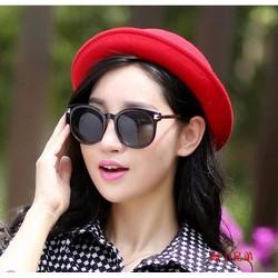 Nón nỉ quả dưa phong cách Hàn Quốc- HKNQD002