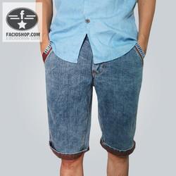 Quần jean ngắn nam Facioshop NN22