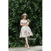 ĐẸP SHOP - Xưởng may chuyên sỉ - Đầm bẹt vai hoa