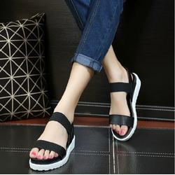 Giày Sandal quai ngang cá tính phong cách Hàn Quốc - SG0090