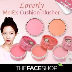 Phấn má The face shop - Lovely Me: Ex Cushion blusher!