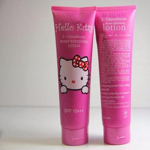 Kem dưỡng trắng body Hello Kitty SPF70