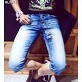 Quần lửng jeans nhiều nút Mã: NL0374